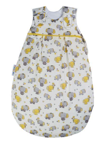Picosleep Babyschlafsack gelber Elefant
