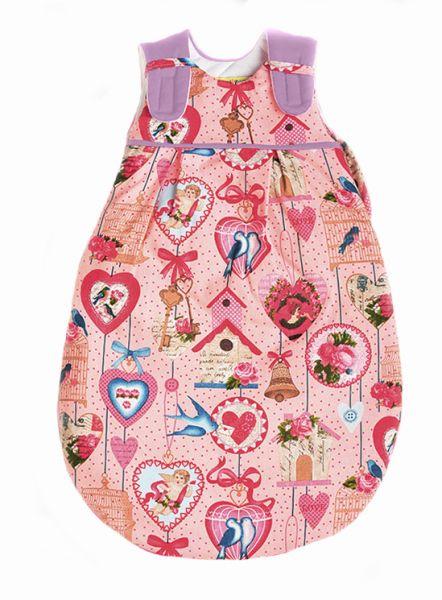 Picosleep Babyschlafsack Herzen