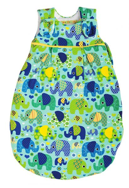 Picosleep Babyschlafsack Elefant blau