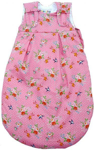 Picosleep Babyschlafsack Rosa Blume