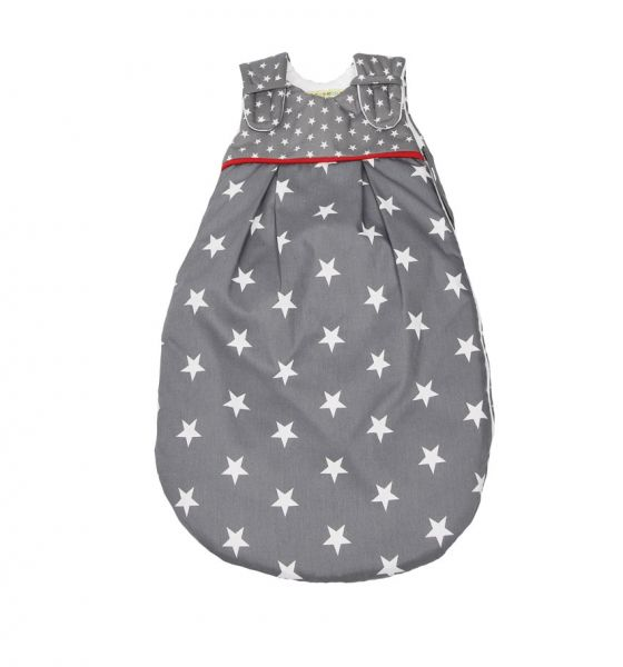 Picosleep Babyschlafsack Sterne grau