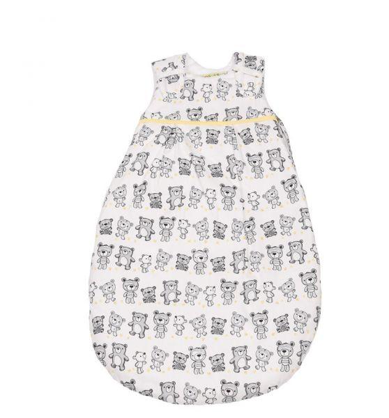 Picosleep Babyschlafsack Bärchen grau