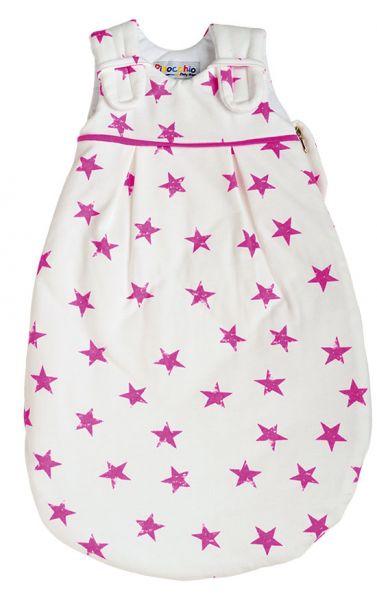 Picosleep Babyschlafsack Sterne pink