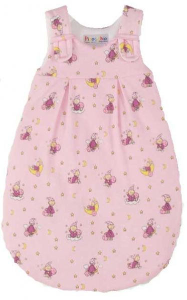 Picosleep Babyschlafsack SOMMER in rosa bedruckt