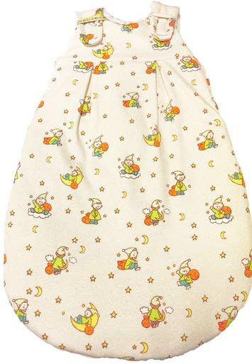Picosleep Babyschlafsack für Frühchen in ecru bedruckt
