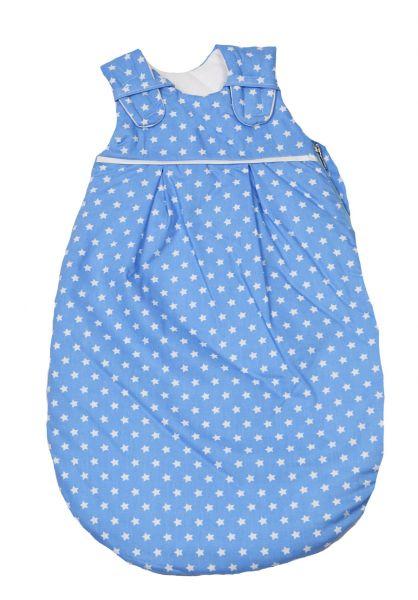 Picosleep Babyschlafsack blau mit weißen Sternen