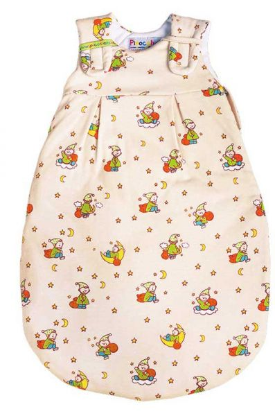 Sommer Picosleep Babyschlafsack ecru bedruckt