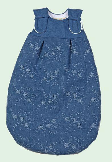 Picosleep Babyschlafsack Jeans Blume