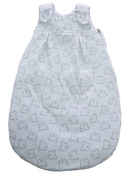 Picosleep Babyschlafsack Bärchen weiß