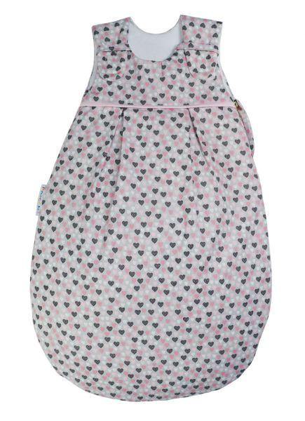 NEU: Picosleep Babyschlafsack Herzchen bunt