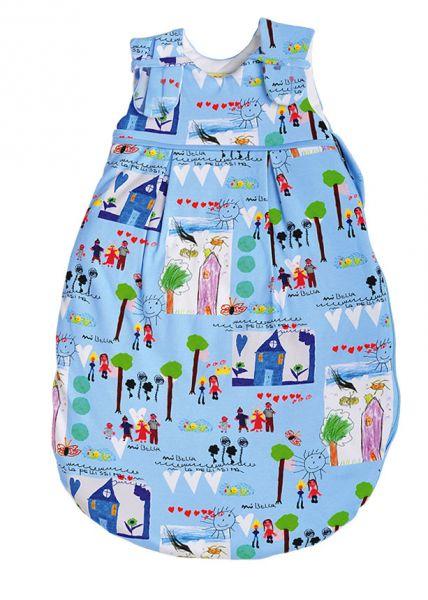 Picosleep Babyschlafsack in buntem Maldesign für Jungen