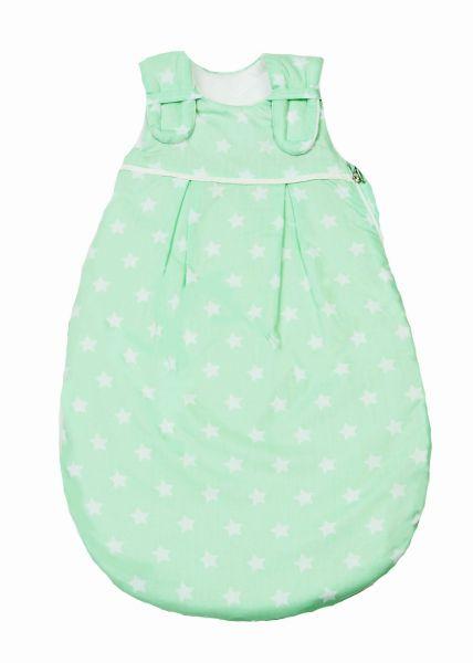 Picosleep Babyschlafsack Sterne lindgrün