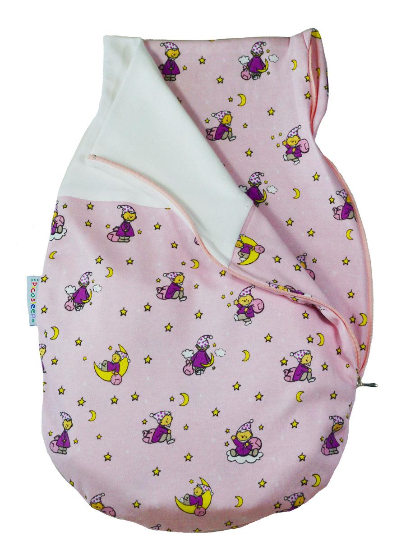 Baby Strampelsack I Seitenreißverschluss I ohne Raffbund I 100/% Baumwolle