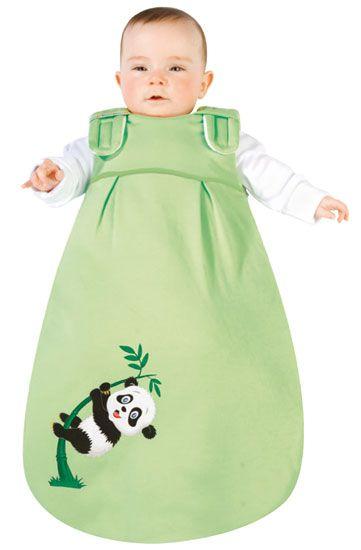 Picosleep Baby Schlafsack Bambus mit Pandadruck