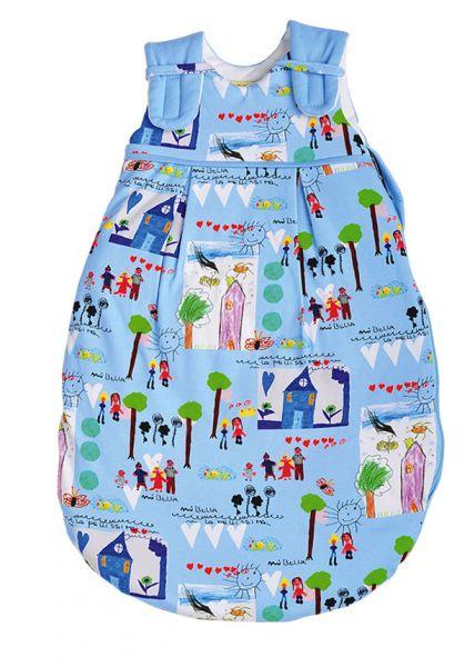 Picosleep Babyschlafsack in buntem Kinderdesign für Jungen